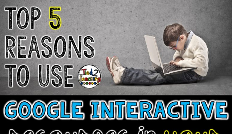 Five Reasons to Use Google Interactive Resources in Your Classroom