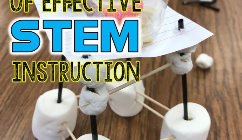5 Marks of Effective STEM Instruction in the Elementary Classroom